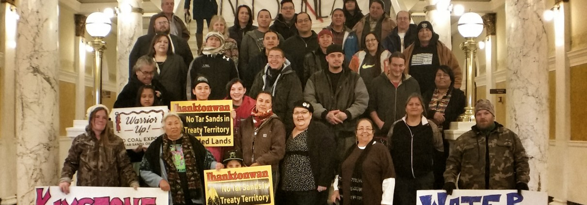 NOKXL Prayer Rally. Pierre SD. Jan 6, 2015.